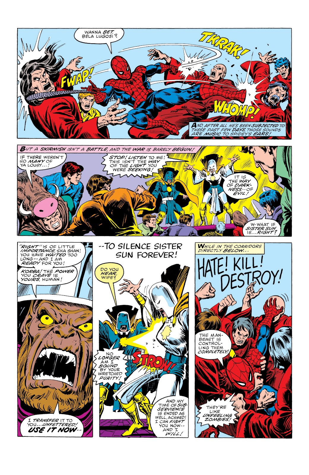 Read online Marvel Masterworks: The Spectacular Spider-Man comic -  Issue # TPB (Part 3) - 58