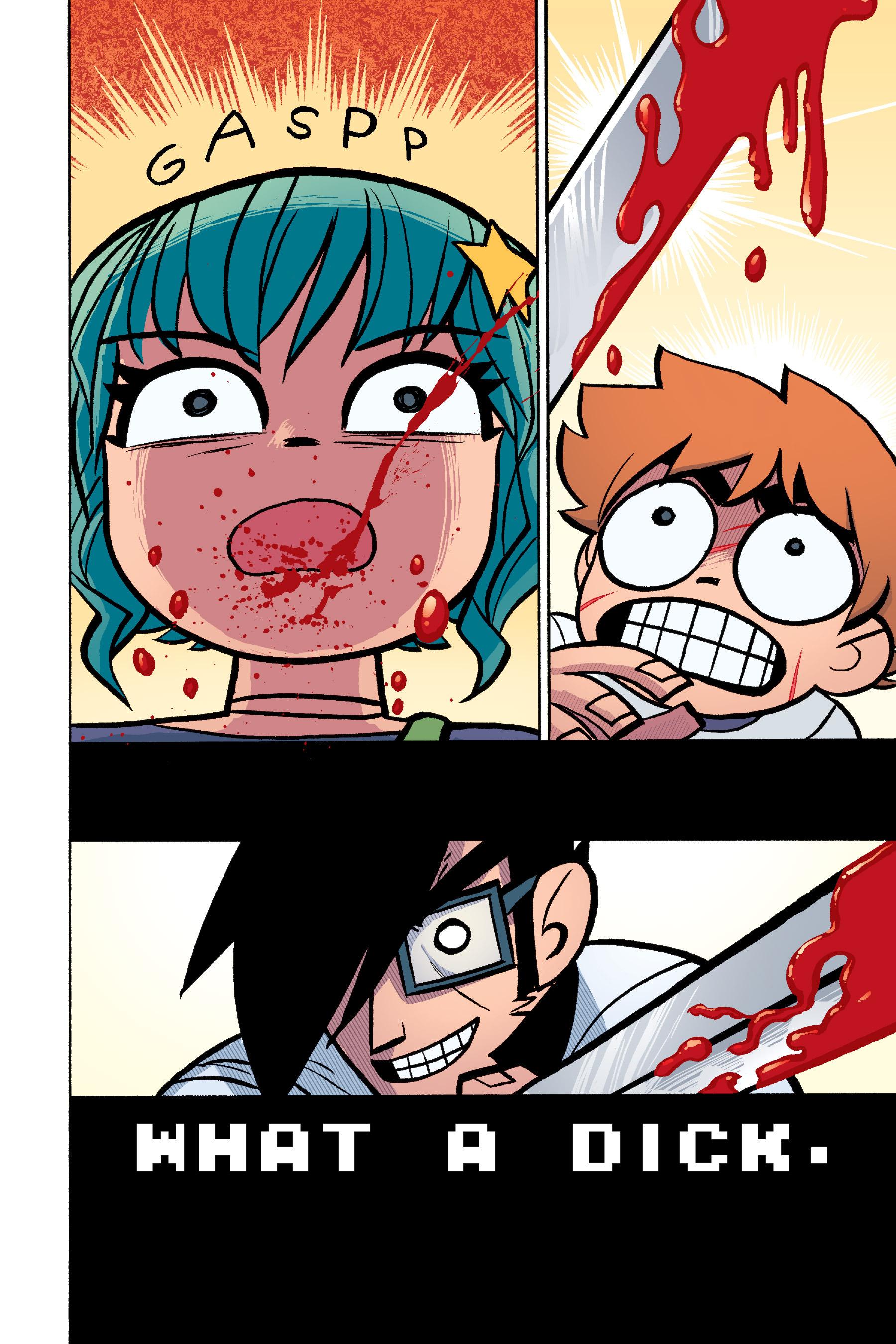Read online Scott Pilgrim comic -  Issue #6 - 157