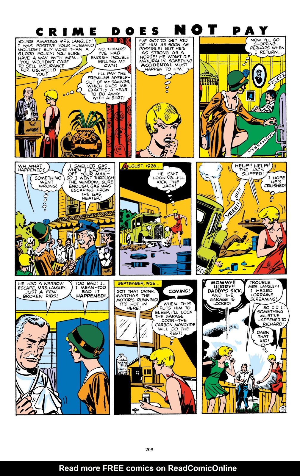 Read online Crime Does Not Pay Archives comic -  Issue # TPB 10 (Part 3) - 10