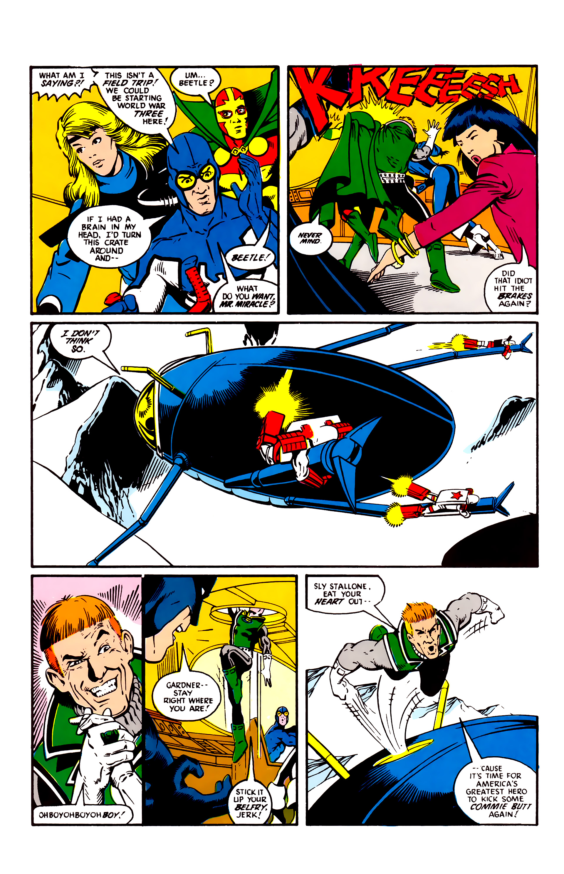 Read online Justice League (1987) comic -  Issue #3 - 10