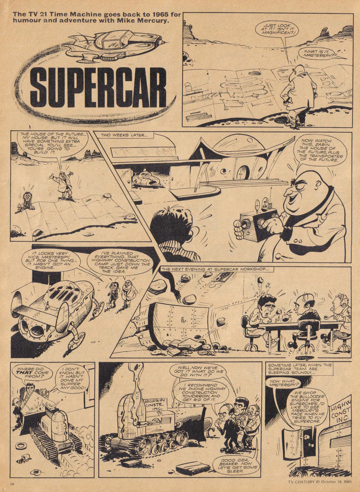 Read online TV Century 21 (TV 21) comic -  Issue #39 - 13