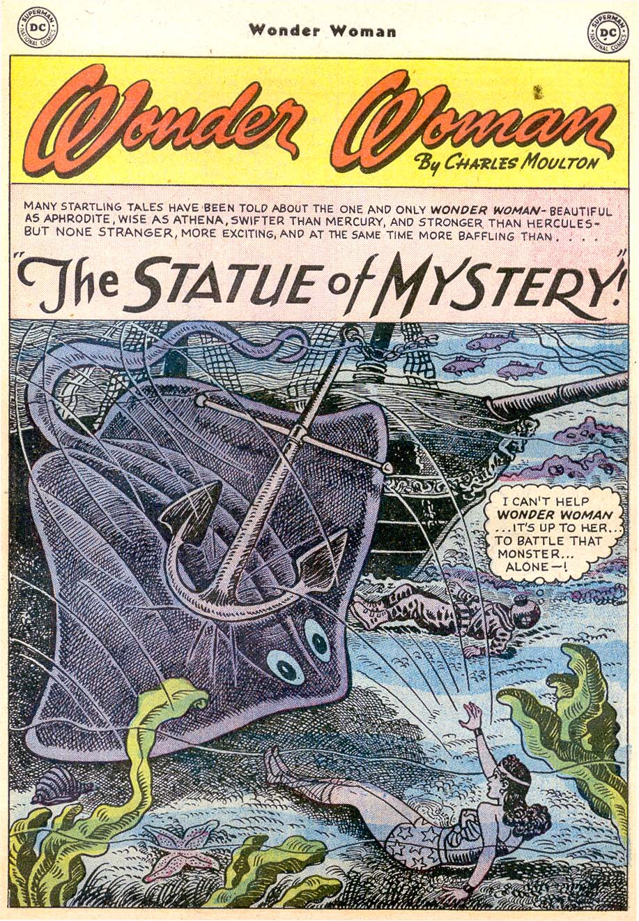 Read online Wonder Woman (1942) comic -  Issue #91 - 27