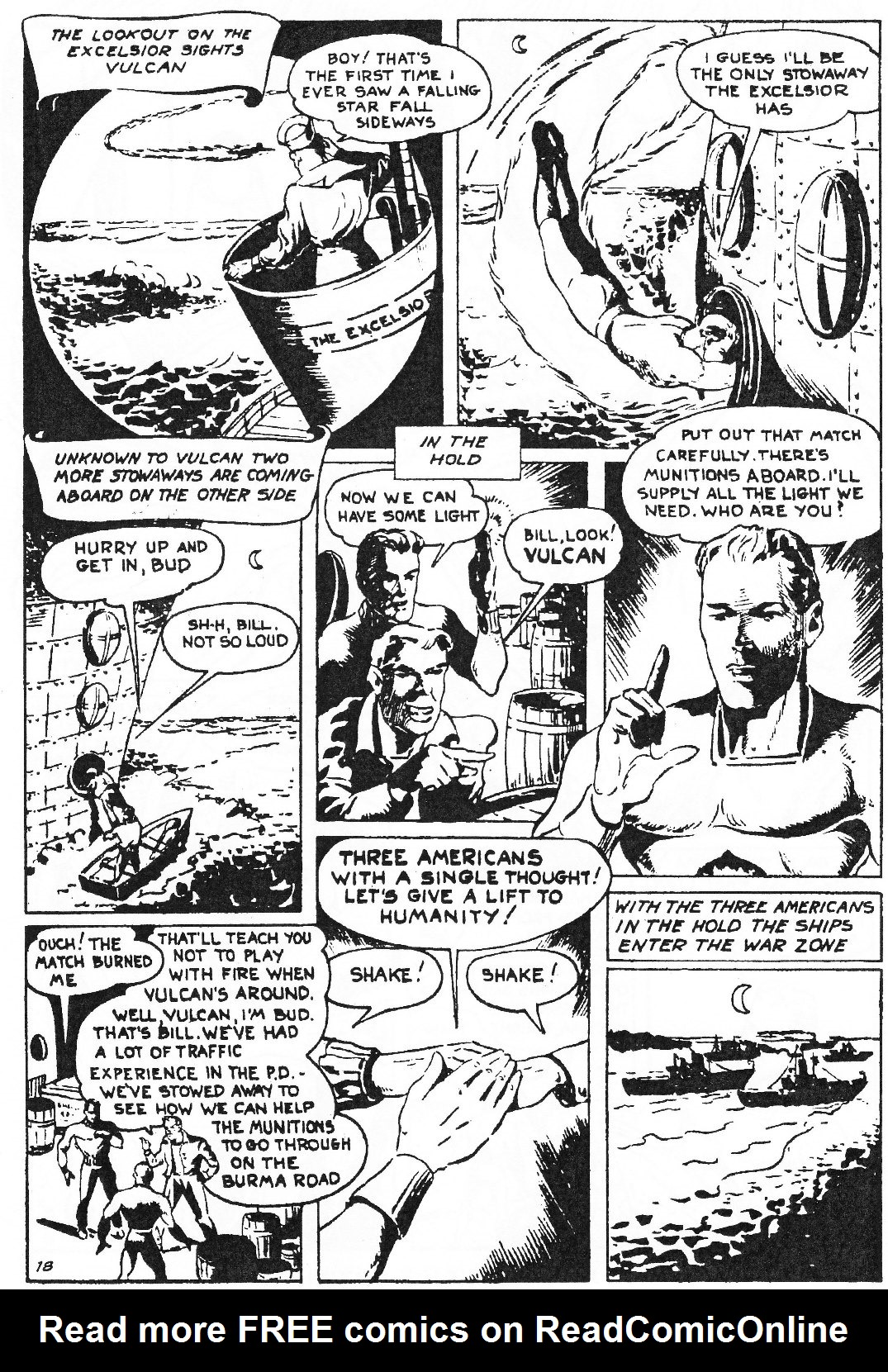 Read online Men of Mystery Comics comic -  Issue #81 - 84
