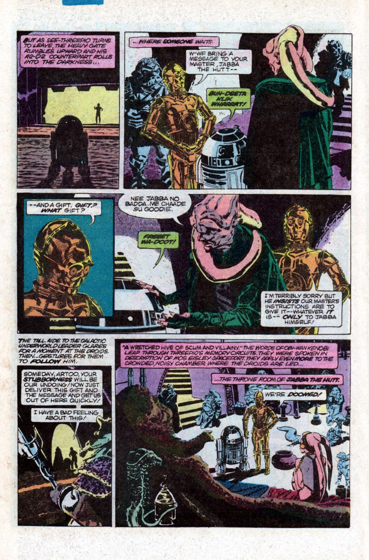Read online Star Wars: Return of the Jedi comic -  Issue #1 - 8