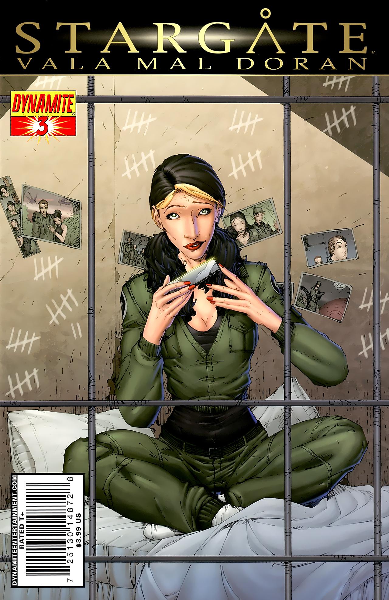 Read online Stargate Vala Mal Doran comic -  Issue #3 - 1