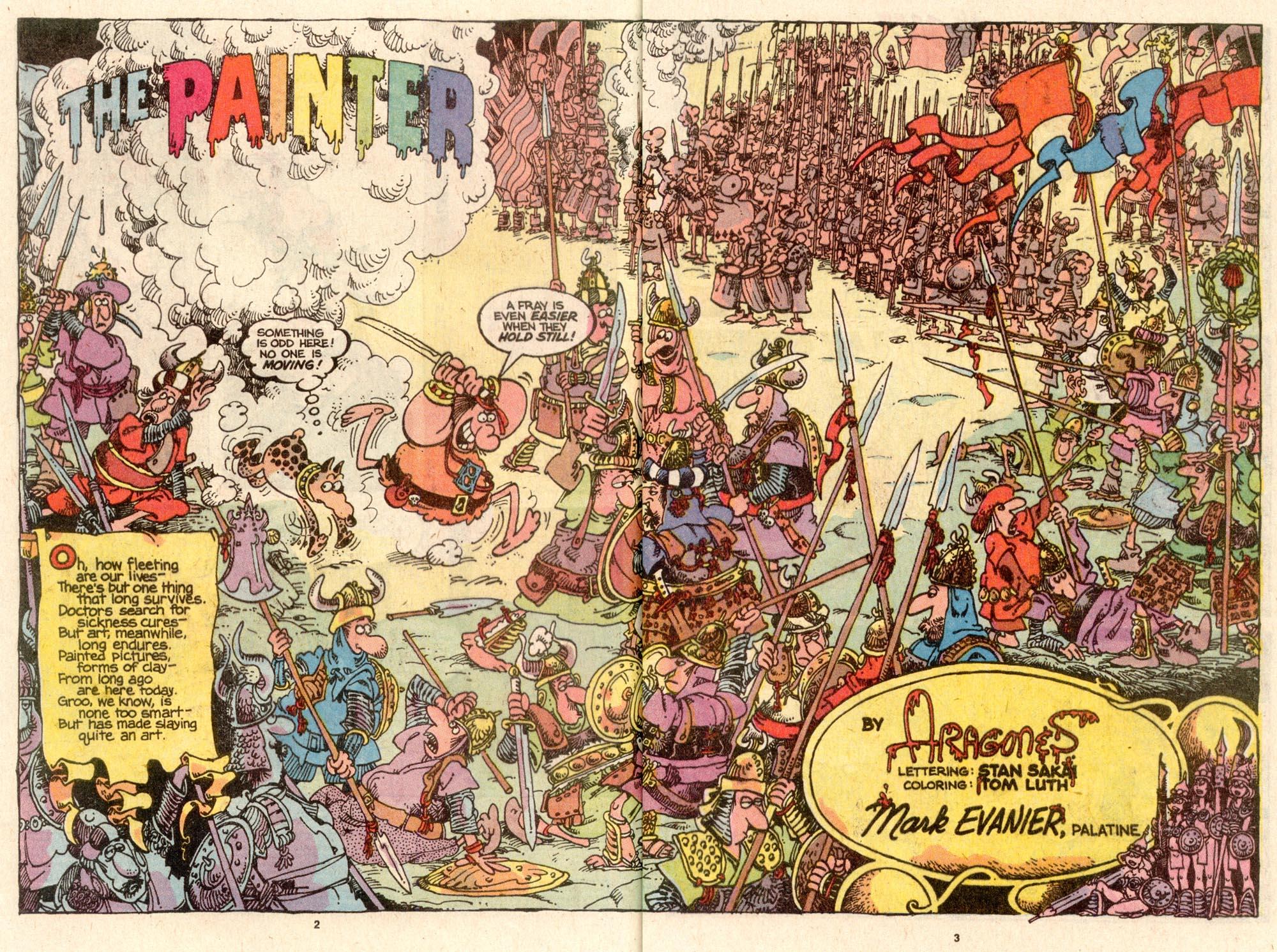 Read online Sergio Aragonés Groo the Wanderer comic -  Issue #64 - 3