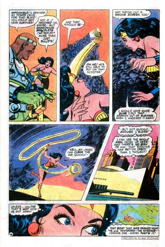 Read online Wonder Woman (1942) comic -  Issue #255 - 25