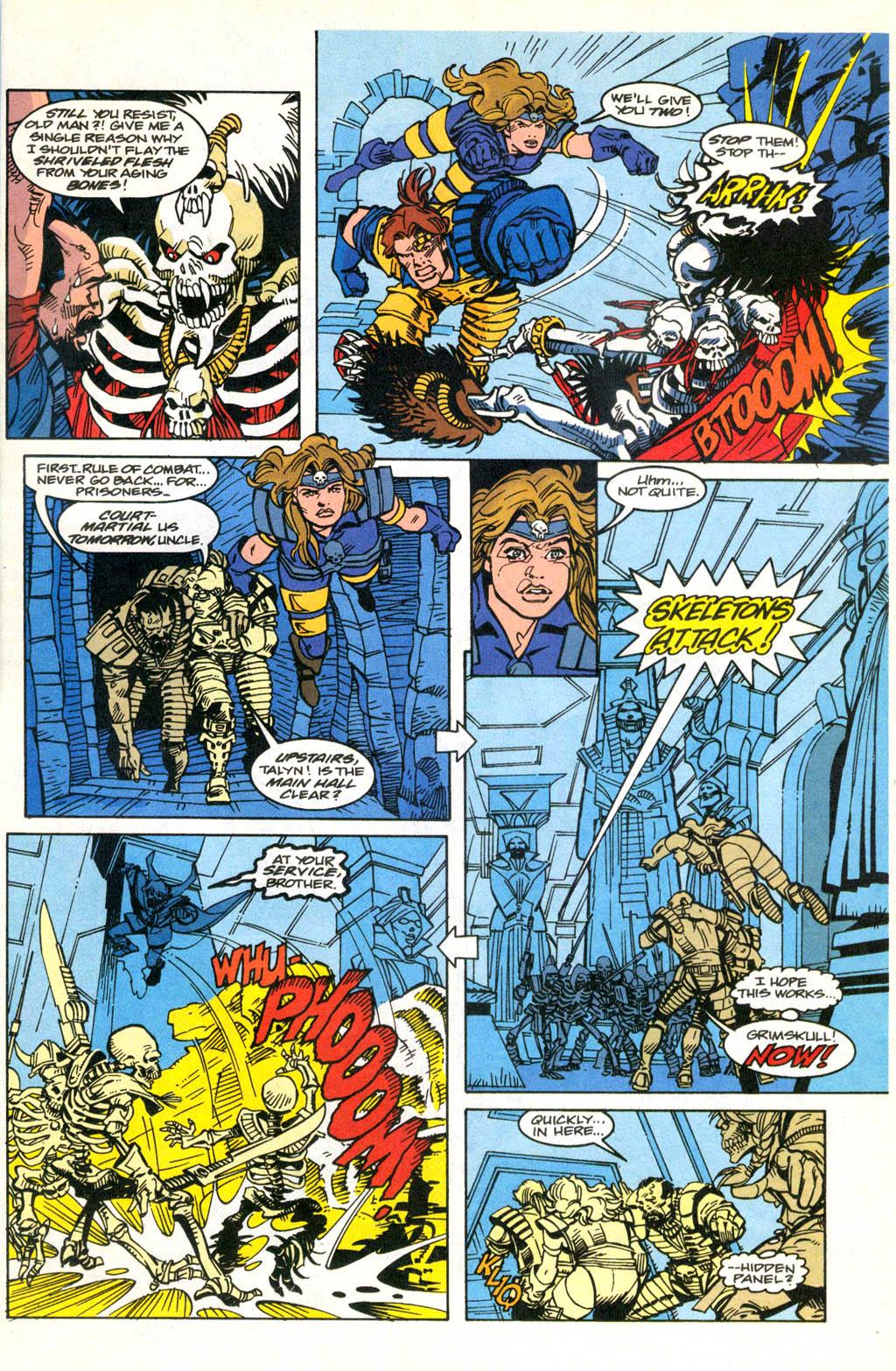 Skeleton Warriors Issue #2 #2 - English 12