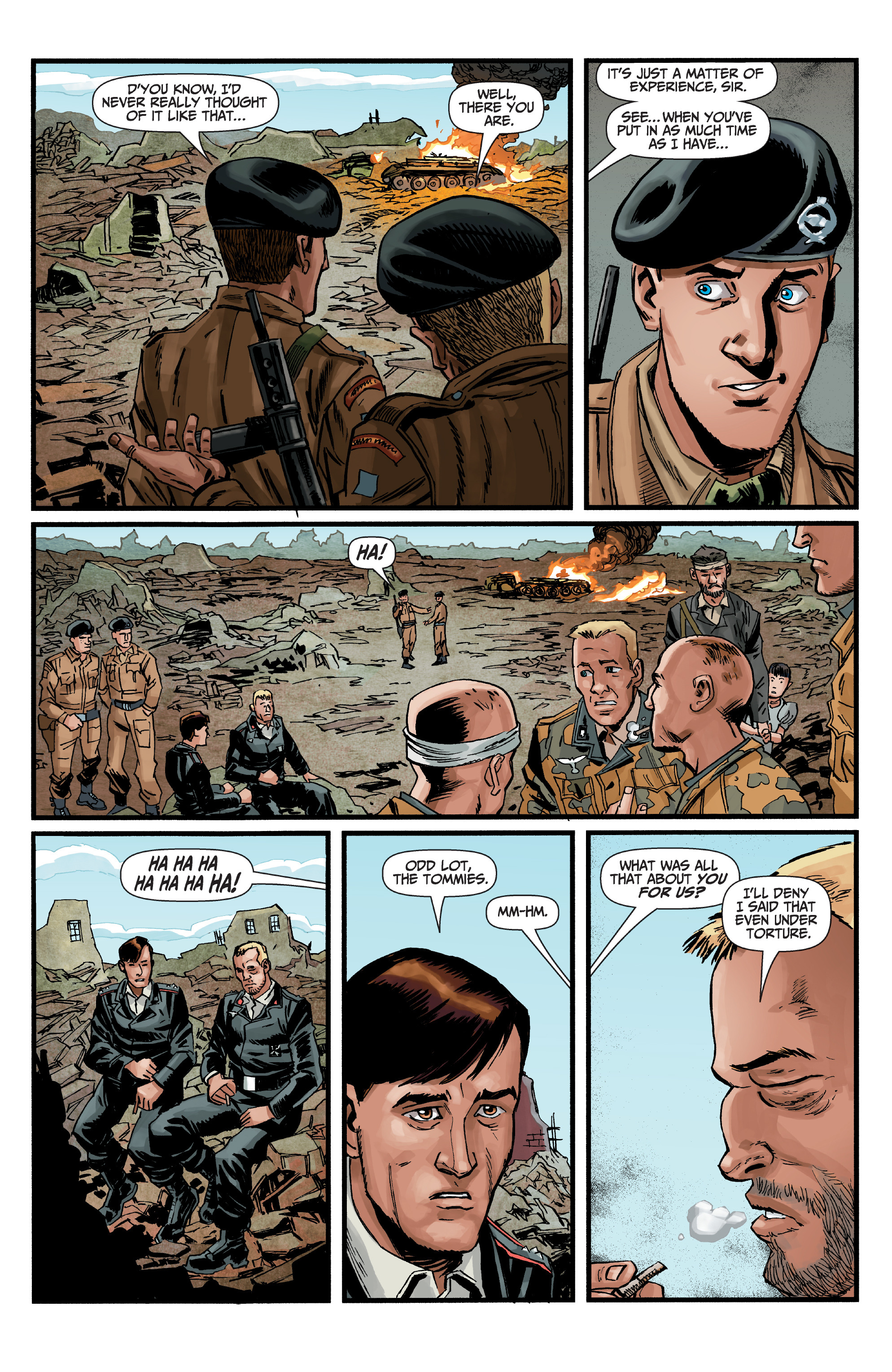 Read online World of Tanks comic -  Issue #5 - 21