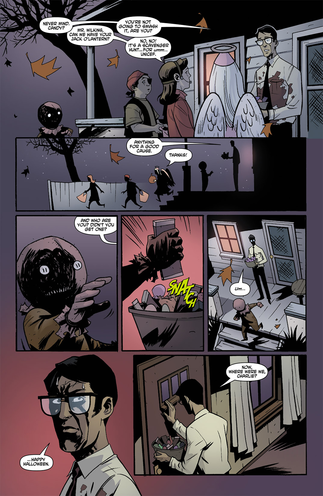 Read online Trick 'r Treat comic -  Issue #1 - 15