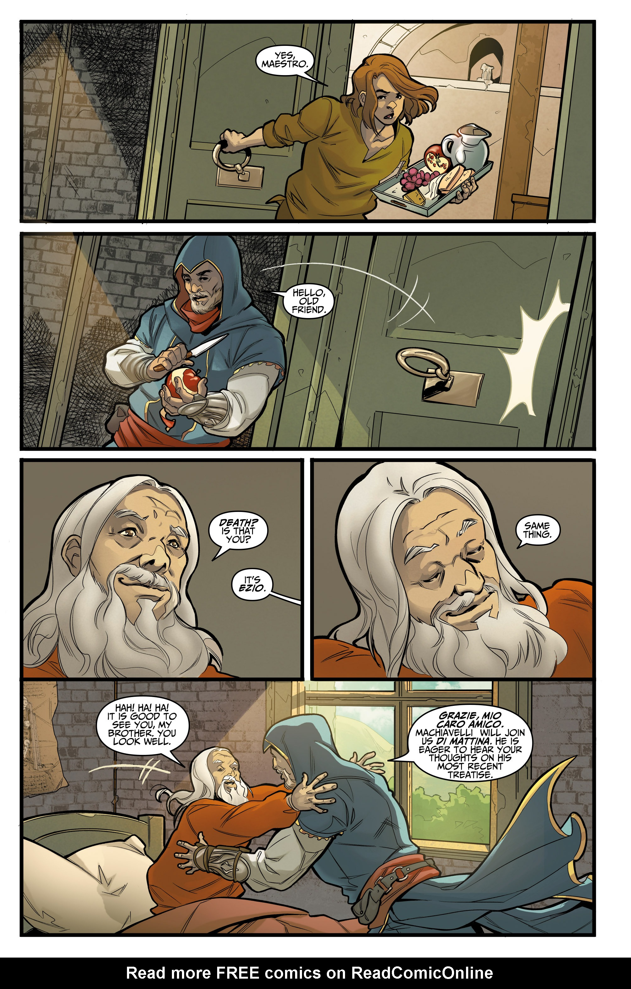 Read online Assassin's Creed: Reflections comic -  Issue #1 - 6