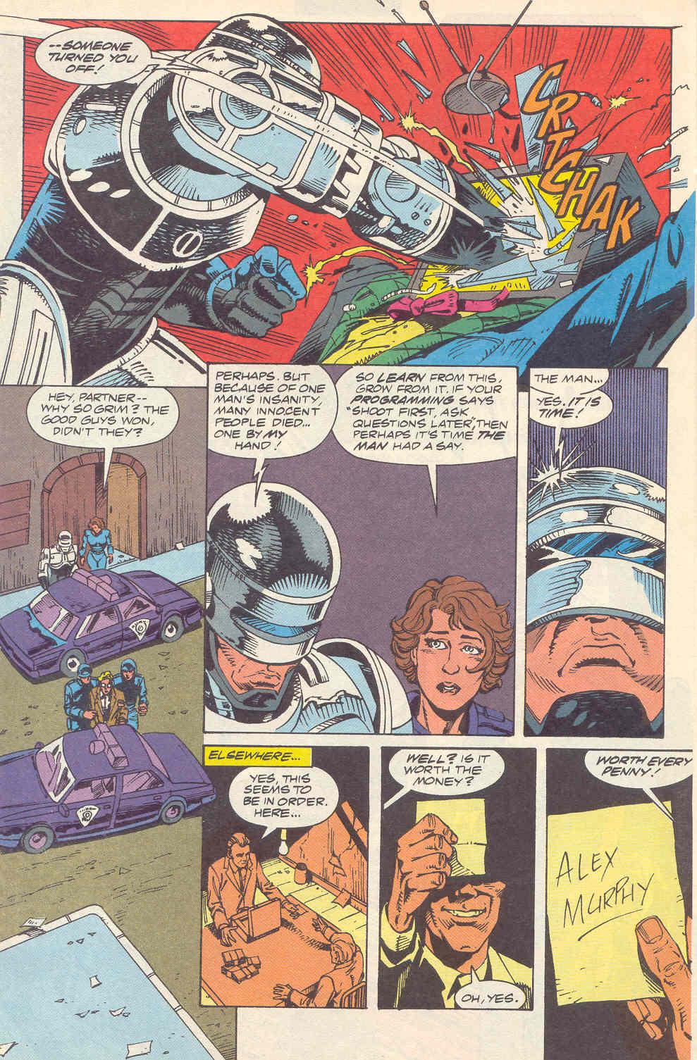 Read online Robocop (1990) comic -  Issue #16 - 23