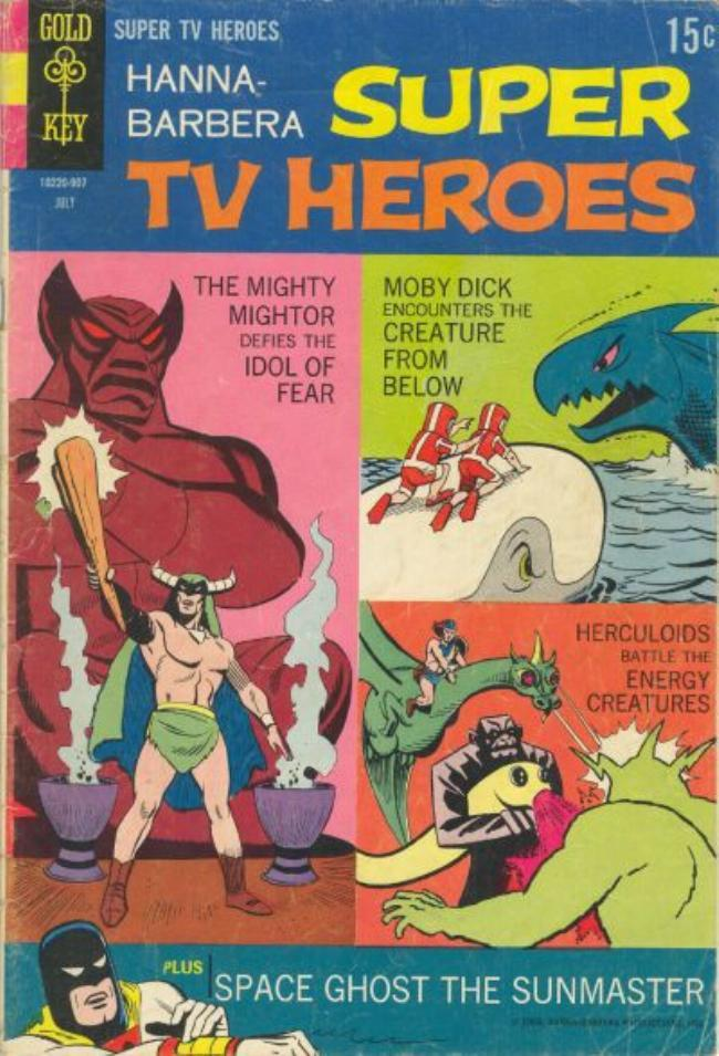 Hanna-Barbera Super TV Heroes 6 Page 1