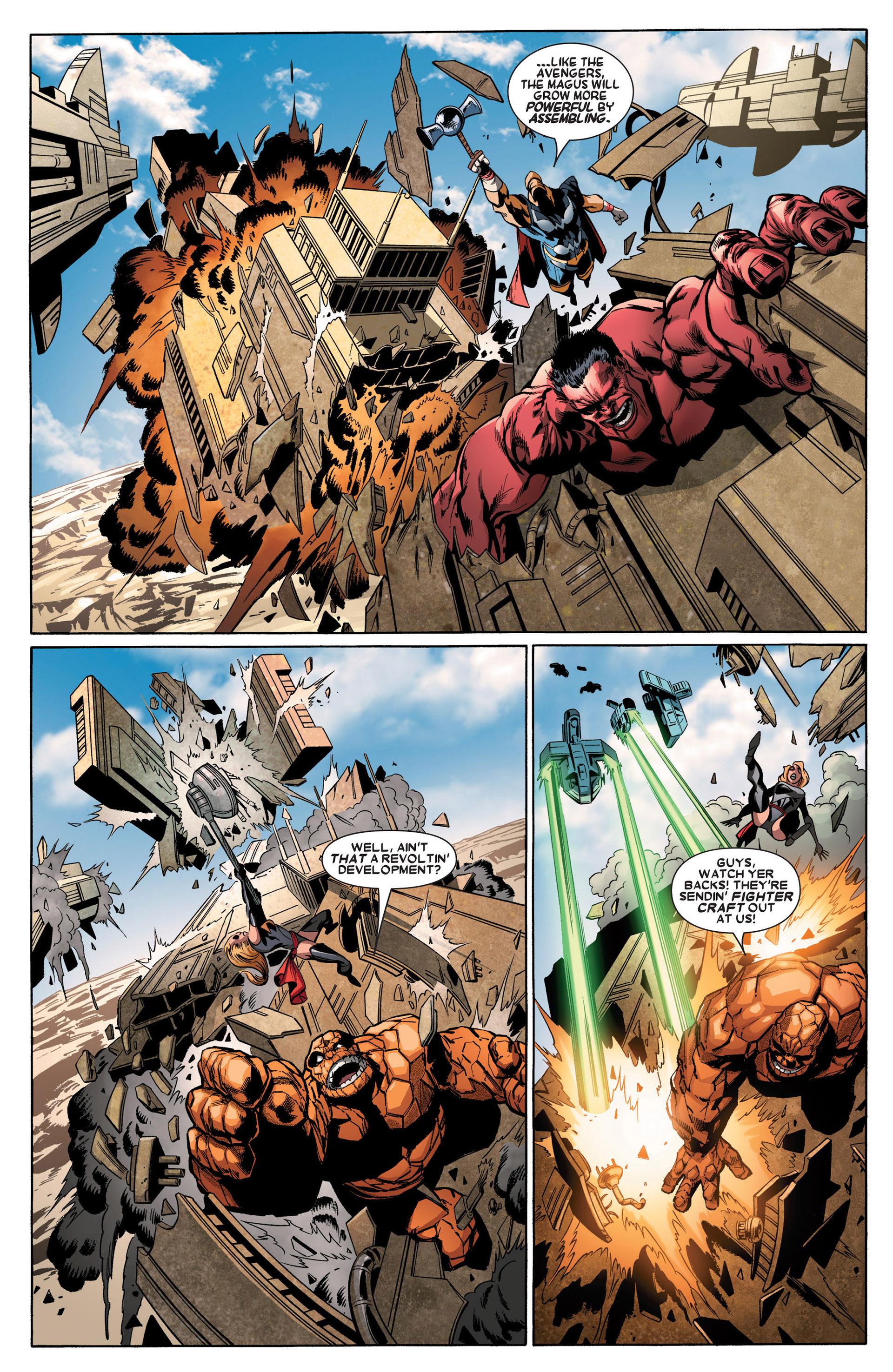 Read online Annihilators: Earthfall comic -  Issue #3 - 18