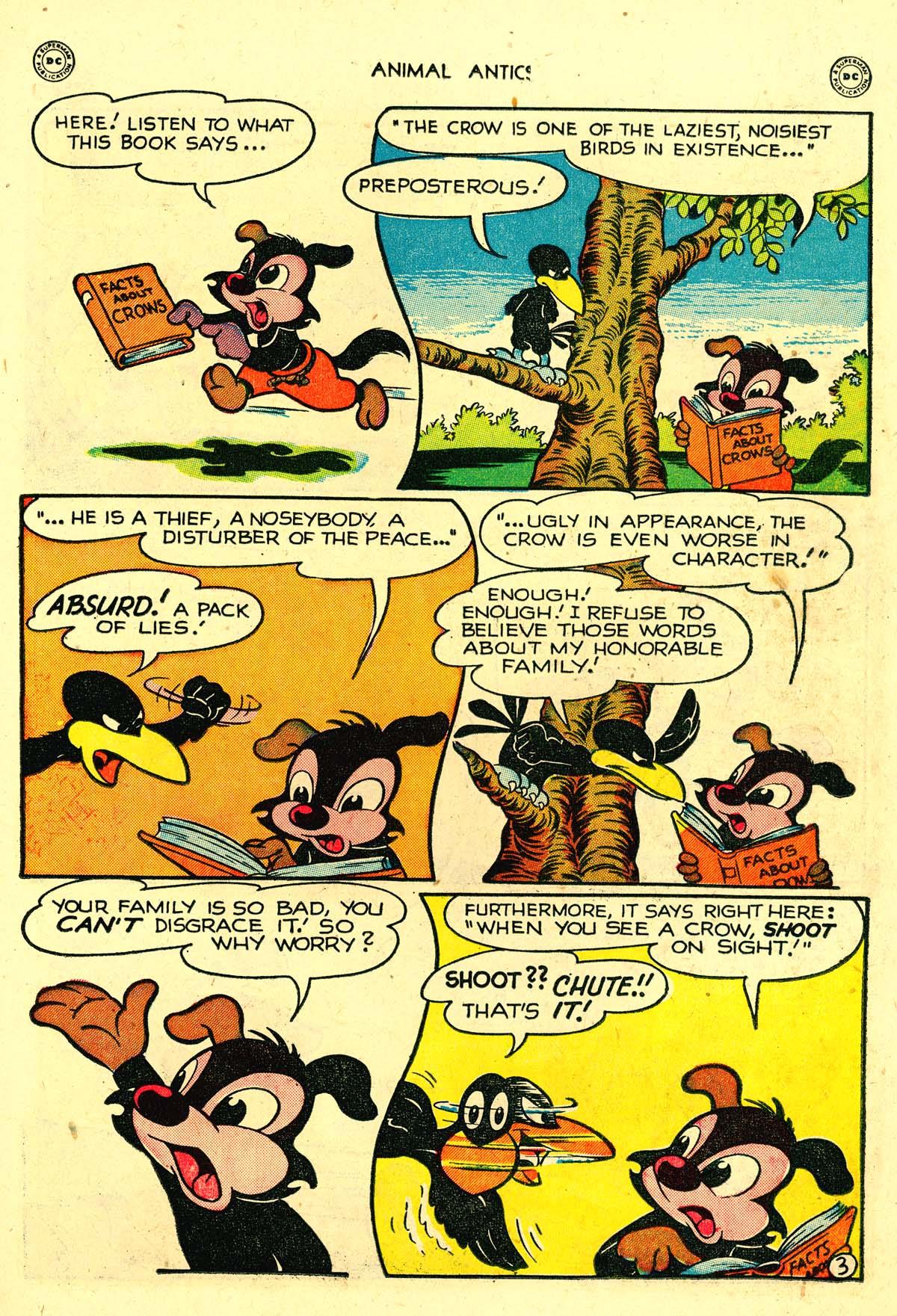Read online Animal Antics comic -  Issue #18 - 21