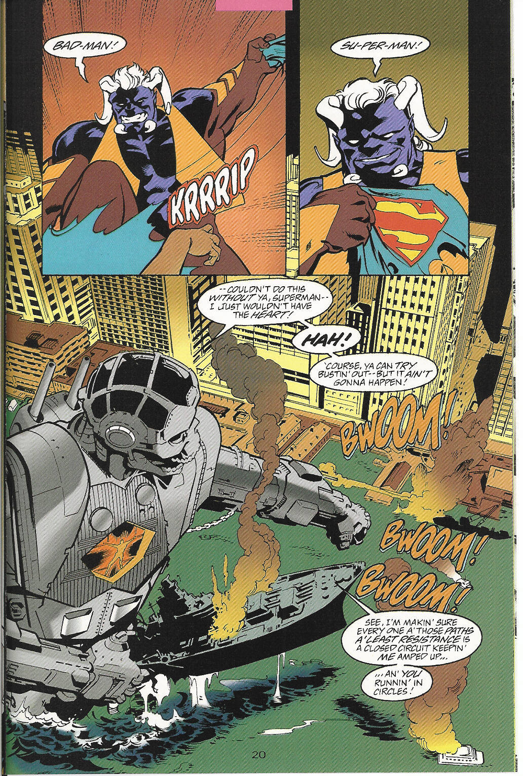 Read online Adventures of Superman (1987) comic -  Issue #546 - 21