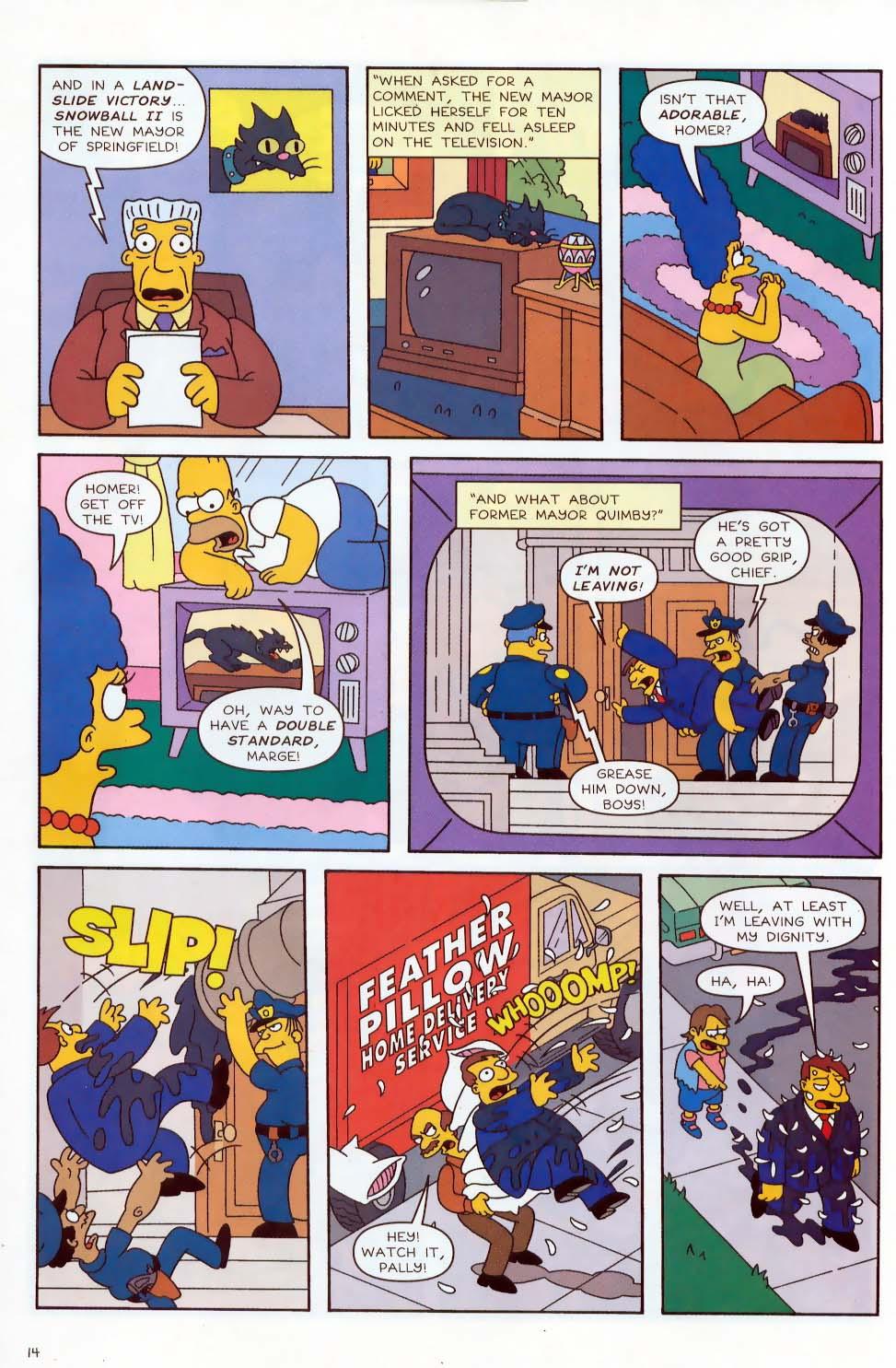 Read online Simpsons Comics comic -  Issue #87 - 15