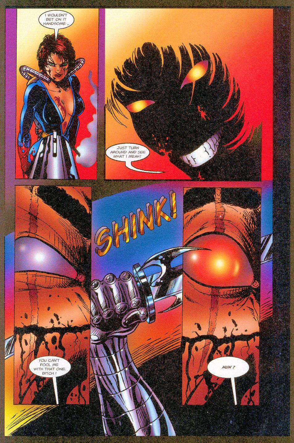 Read online Sisters of Mercy comic -  Issue #1 - 10
