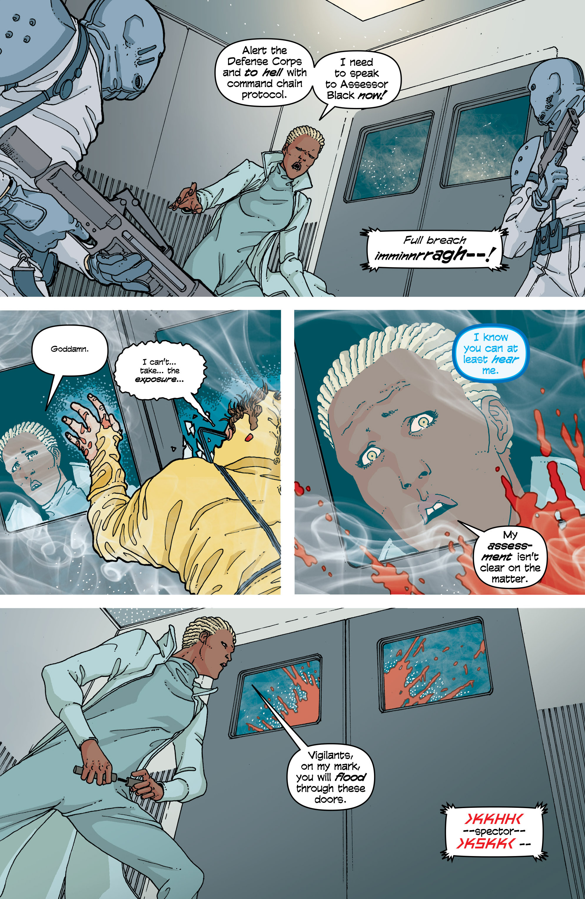 Read online Snowfall comic -  Issue #4 - 14