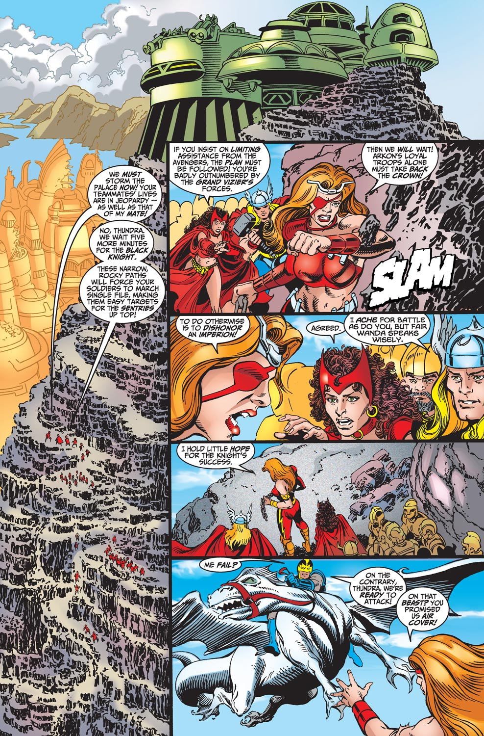 Read online Avengers (1998) comic -  Issue #18 - 5