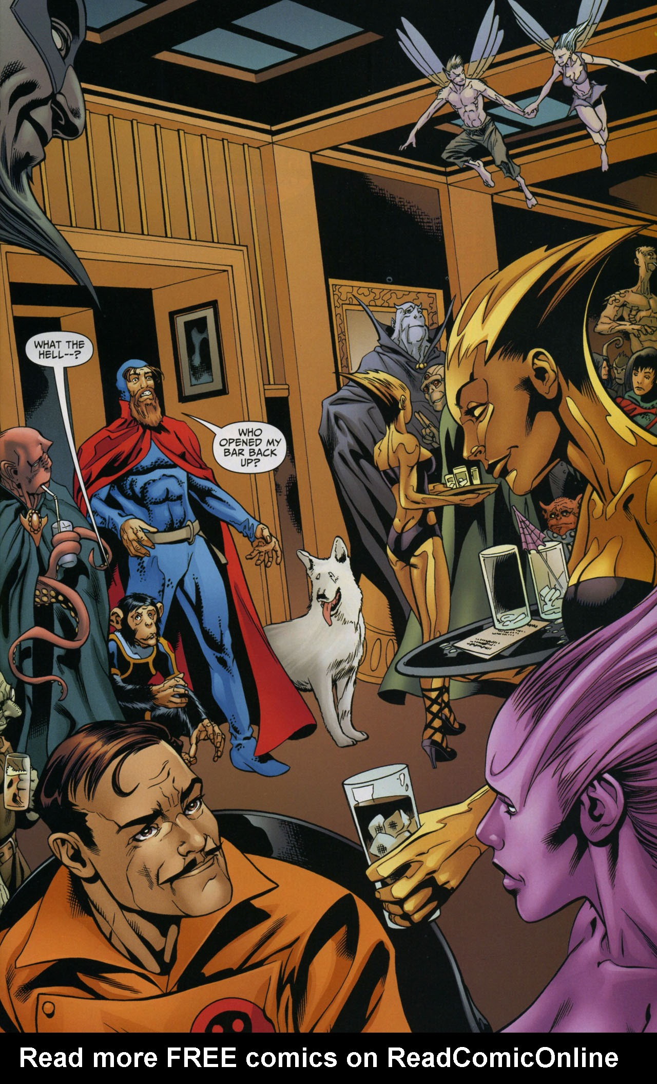 Read online Shadowpact comic -  Issue #5 - 12