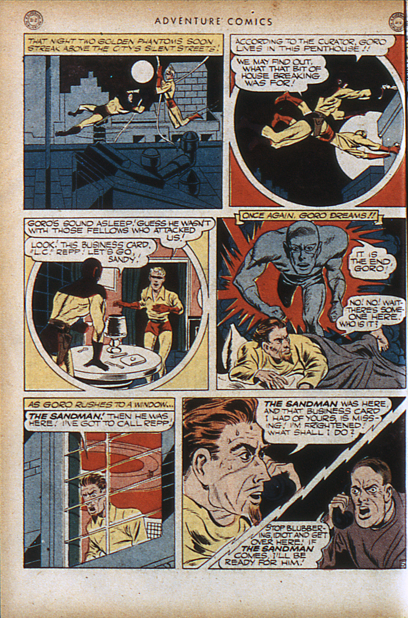 Read online Adventure Comics (1938) comic -  Issue #95 - 9