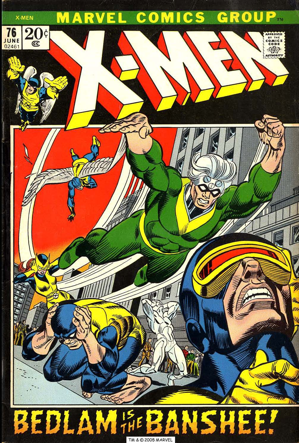 Uncanny X-Men (1963) 76 Page 1