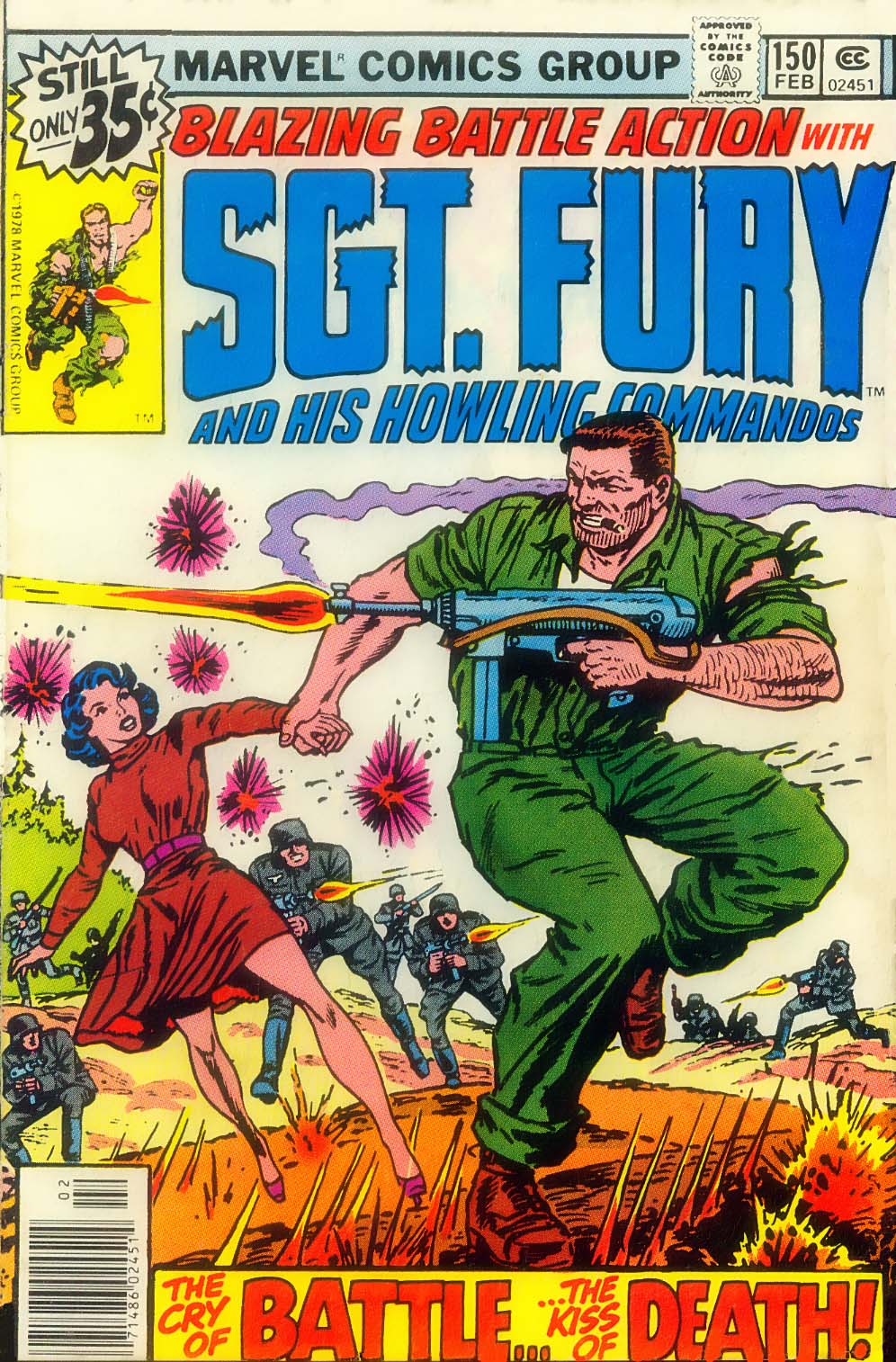 Sgt. Fury issue 150 - Page 1