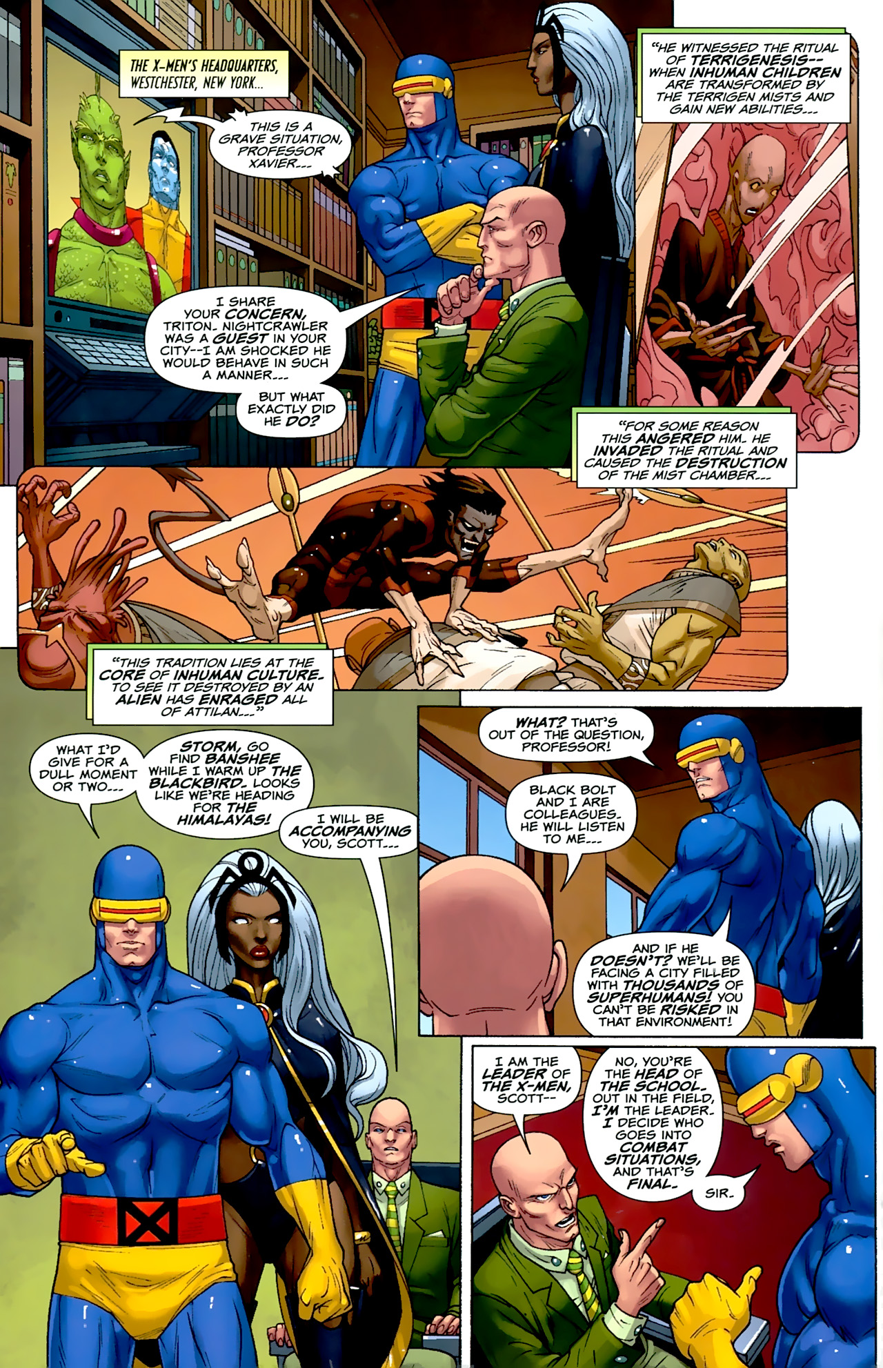 Read online Uncanny X-Men: First Class comic -  Issue #2 - 6