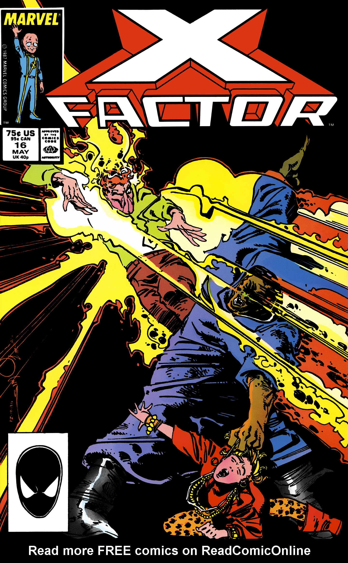 Read online X-Factor (1986) comic -  Issue #16 - 1