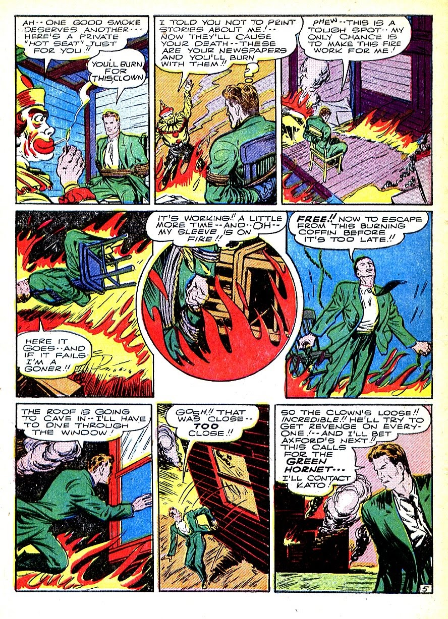 Green Hornet Comics issue 7 - Page 8