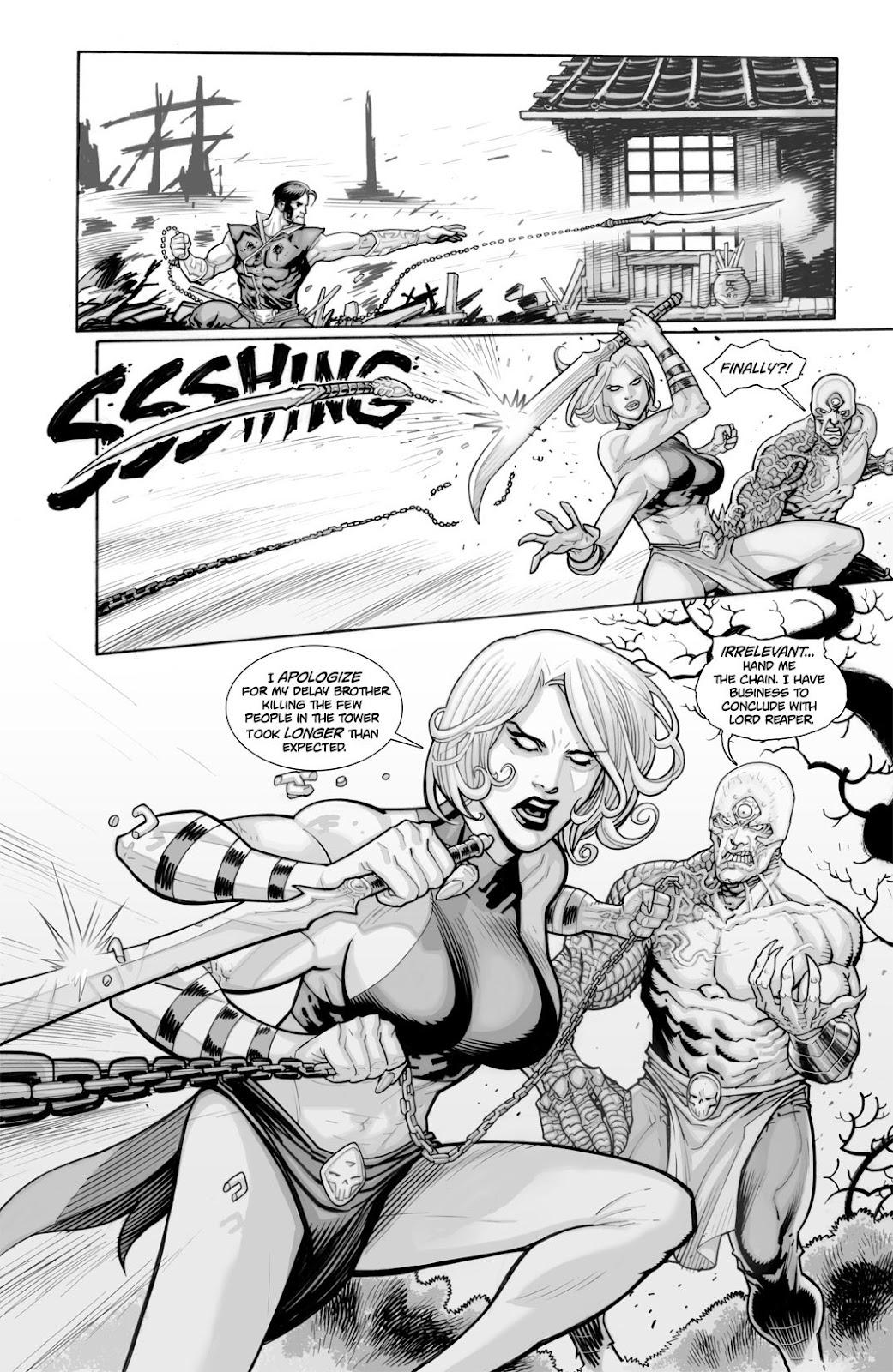 Read online Reaper comic -  Issue #2 - 28