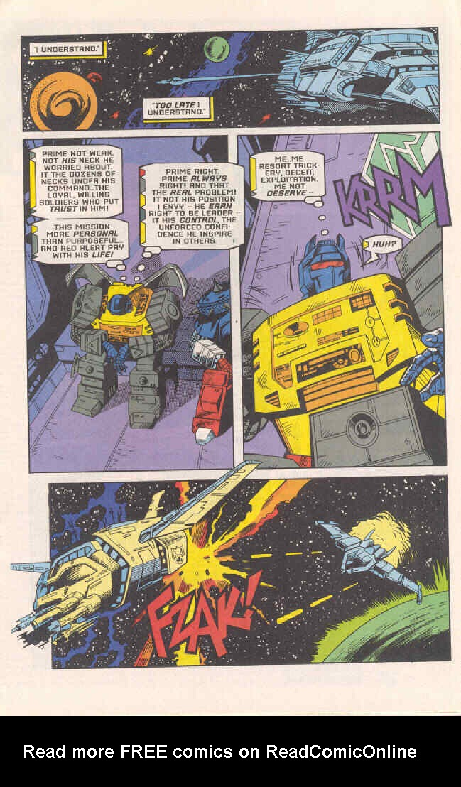 Read online Transformers: Generation 2 comic -  Issue #4 - 14