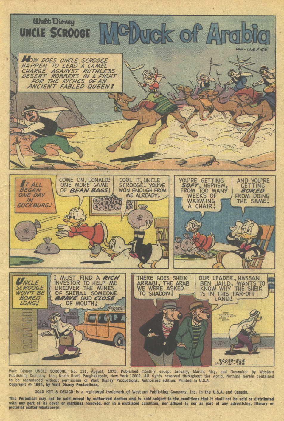 Read online Uncle Scrooge (1953) comic -  Issue #121 - 3
