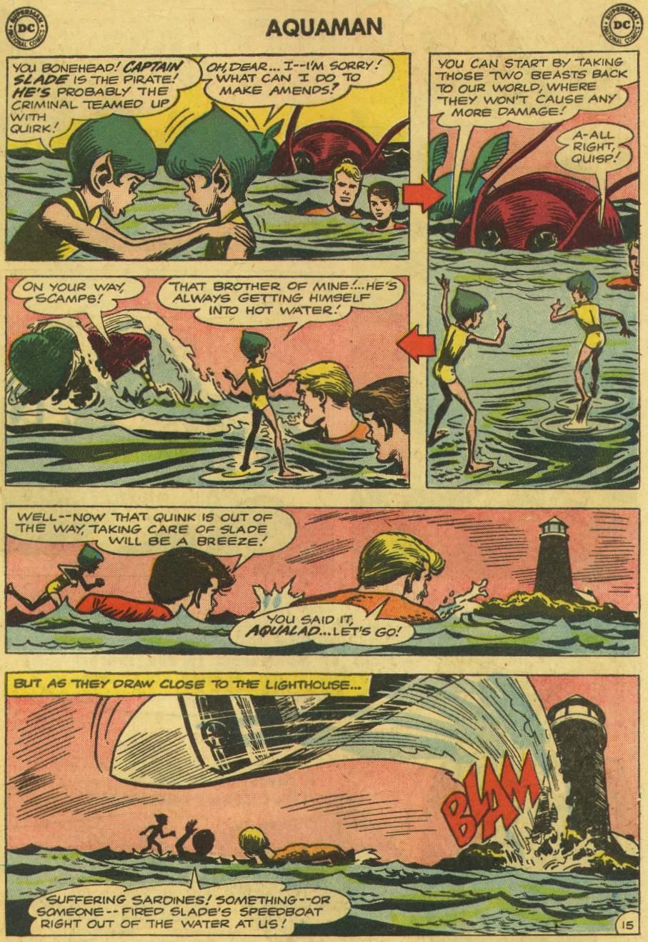 Read online Aquaman (1962) comic -  Issue #6 - 19
