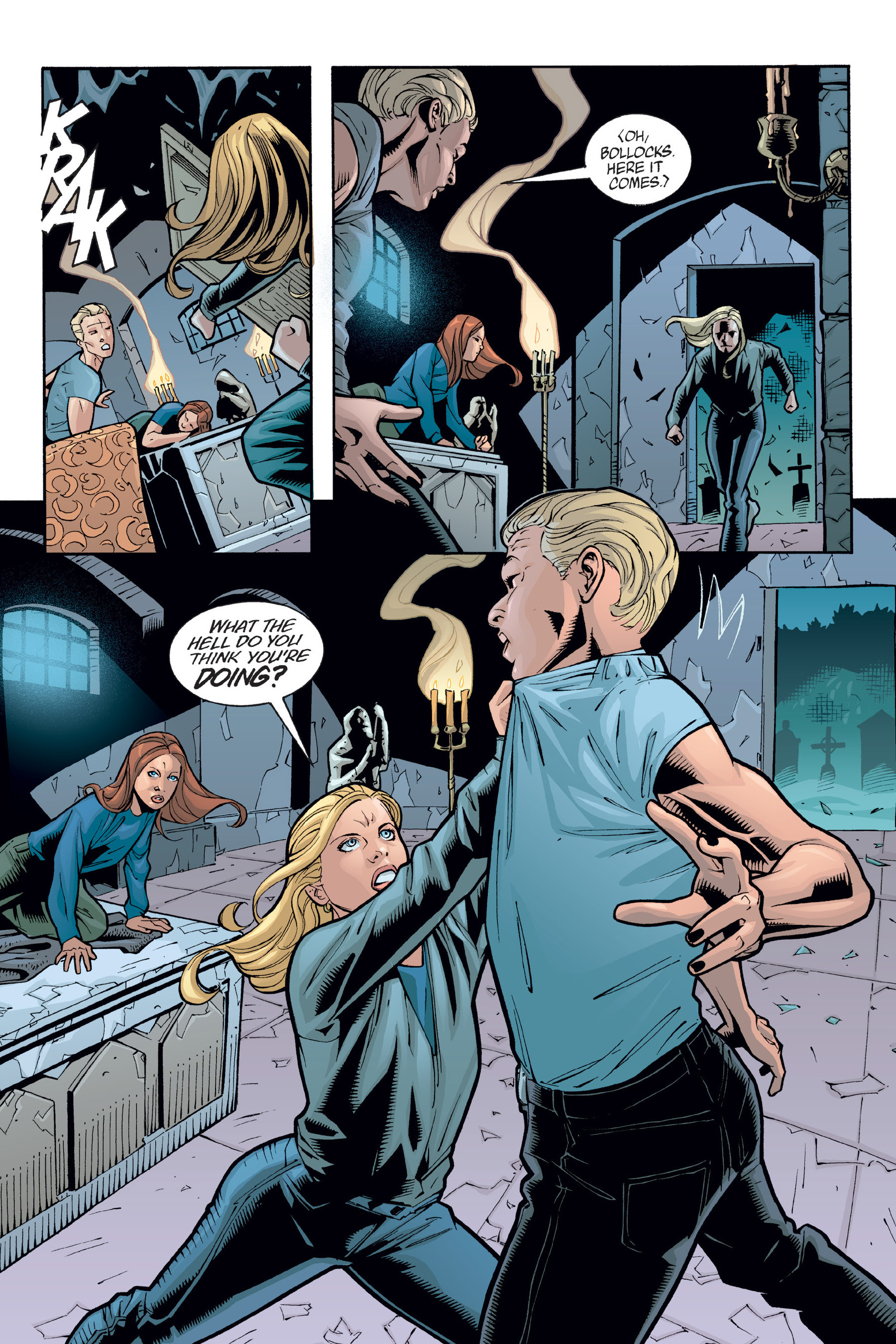 Read online Buffy the Vampire Slayer: Omnibus comic -  Issue # TPB 6 - 333