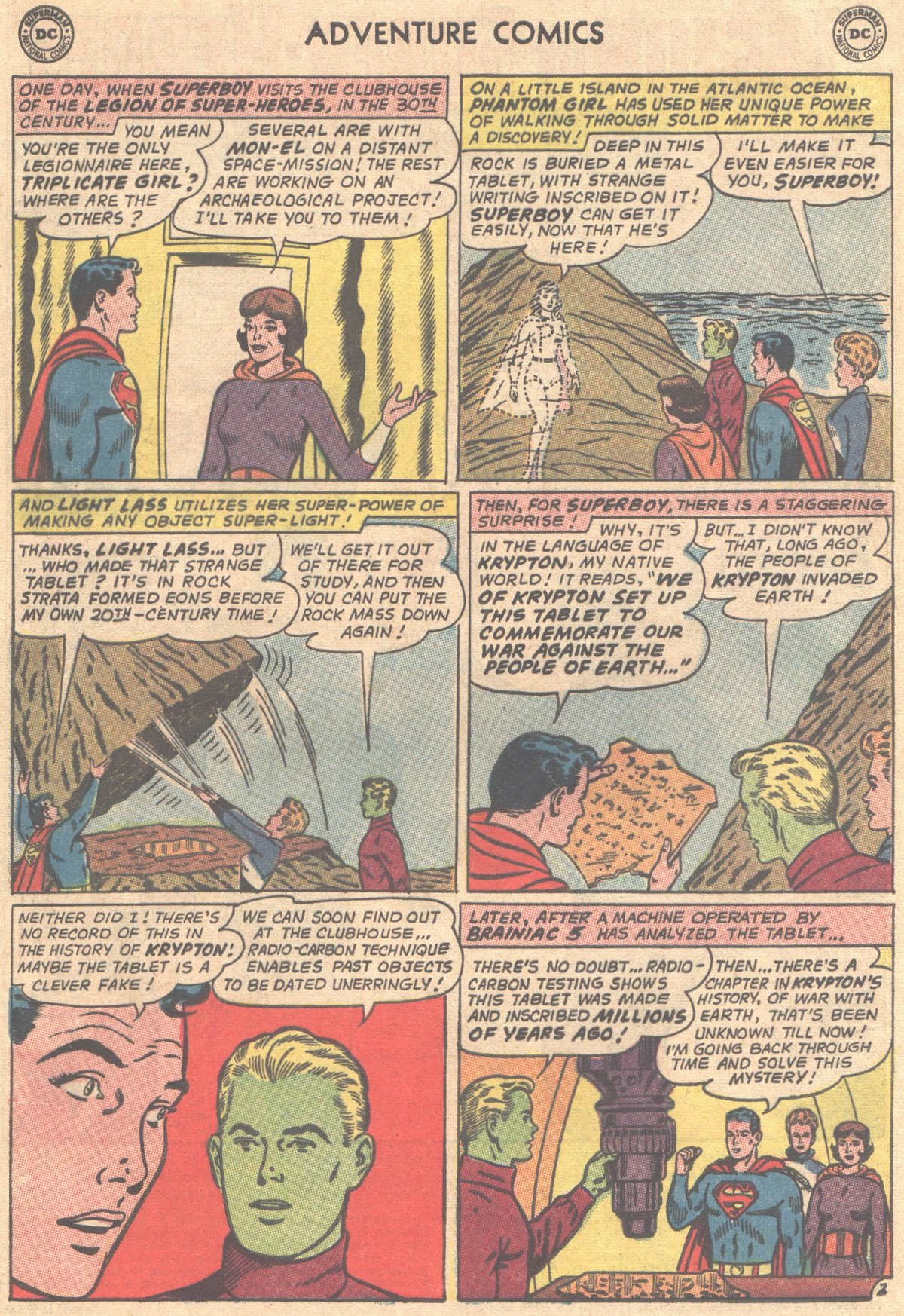 Read online Adventure Comics (1938) comic -  Issue #333 - 3