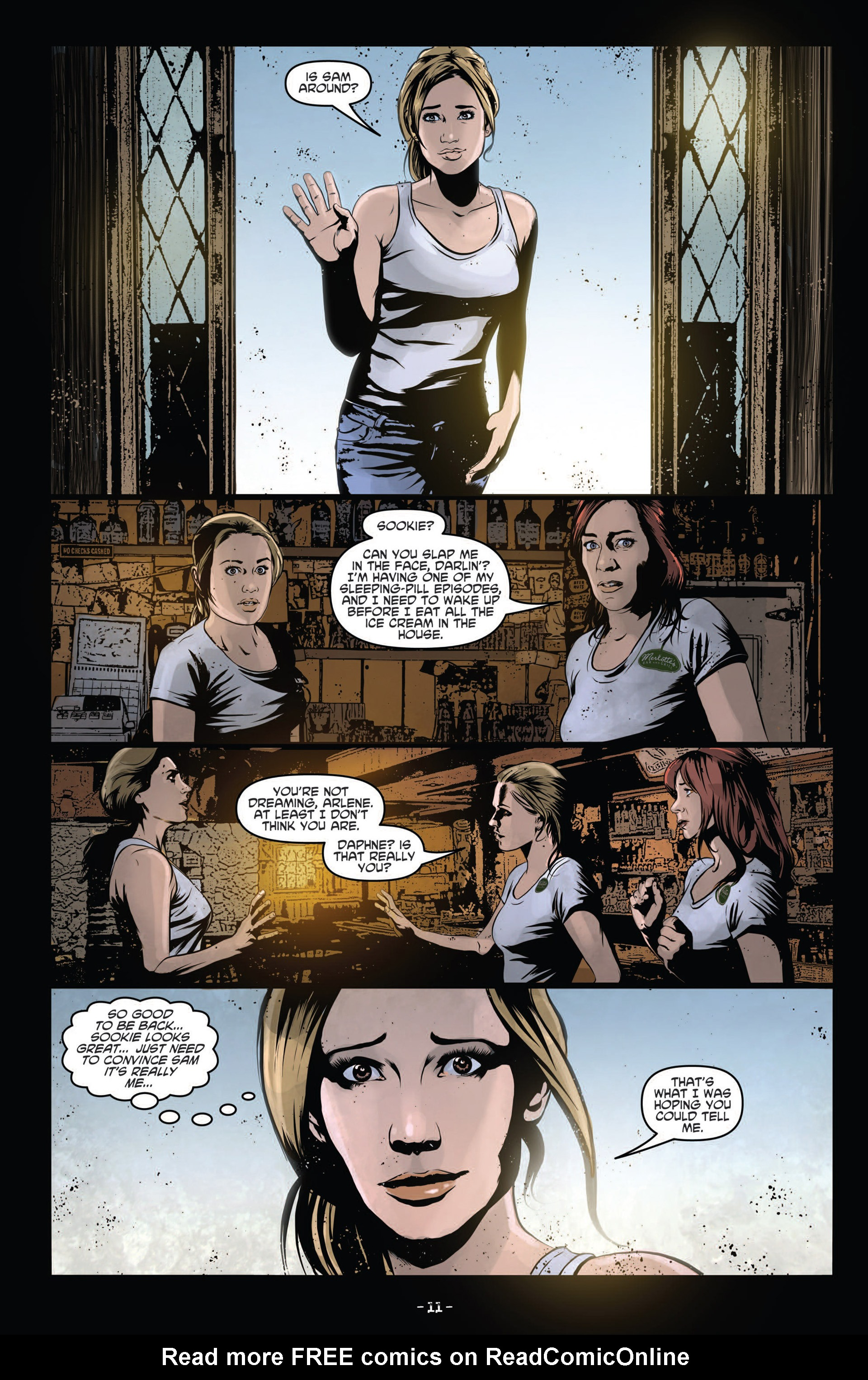 Read online True Blood (2012) comic -  Issue #12 - 13