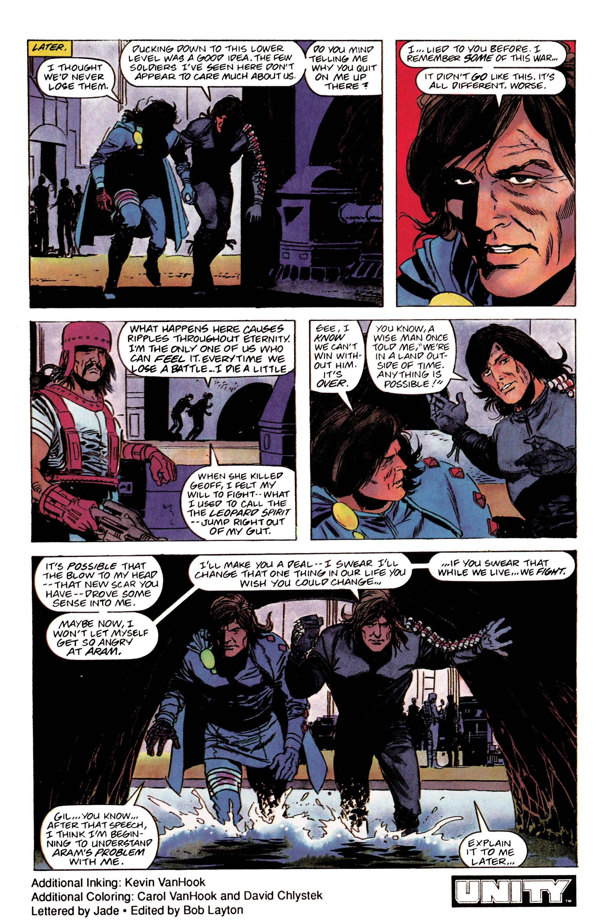 Read online Eternal Warrior (1992) comic -  Issue #2 - 23