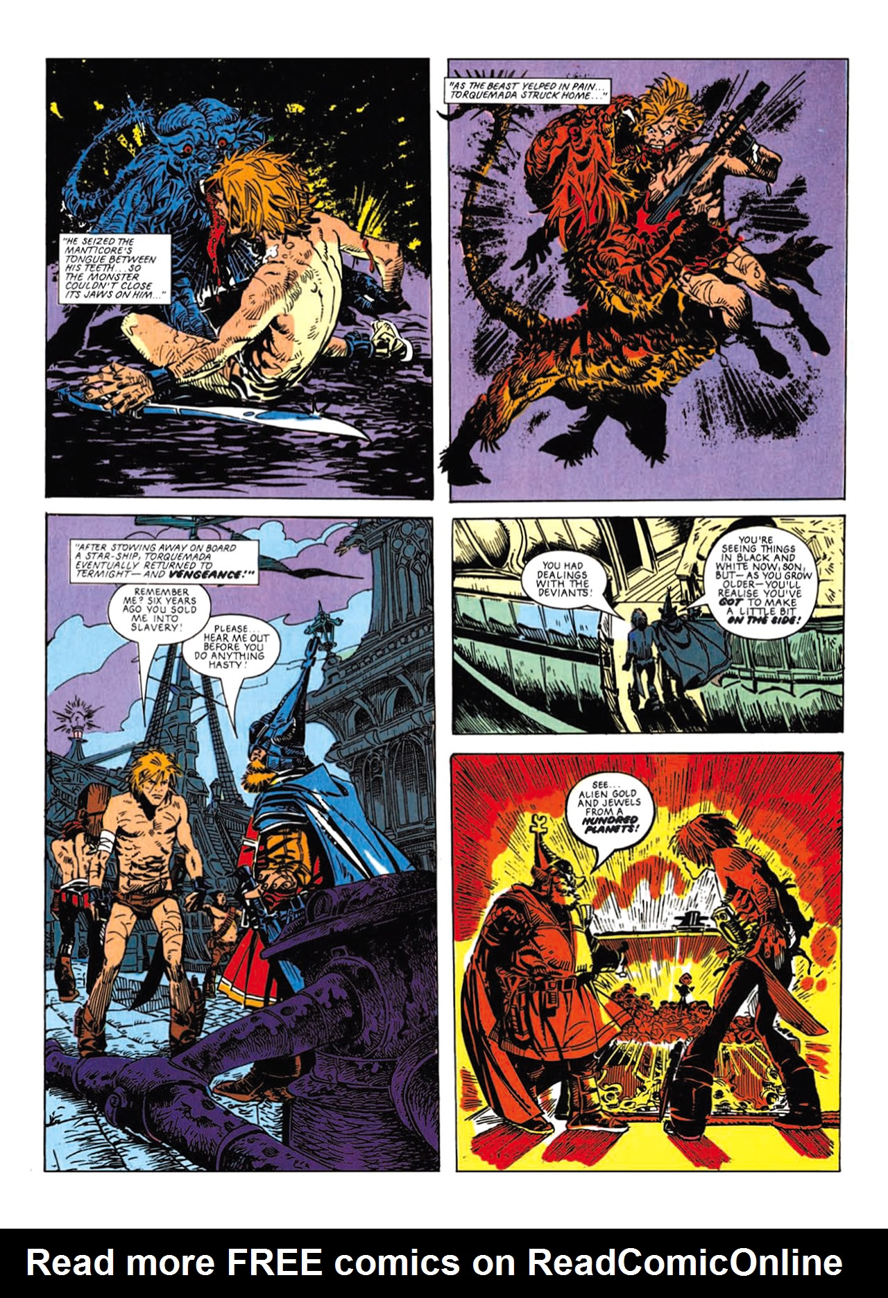 Read online Nemesis The Warlock comic -  Issue # TPB Deviant Edition - 104