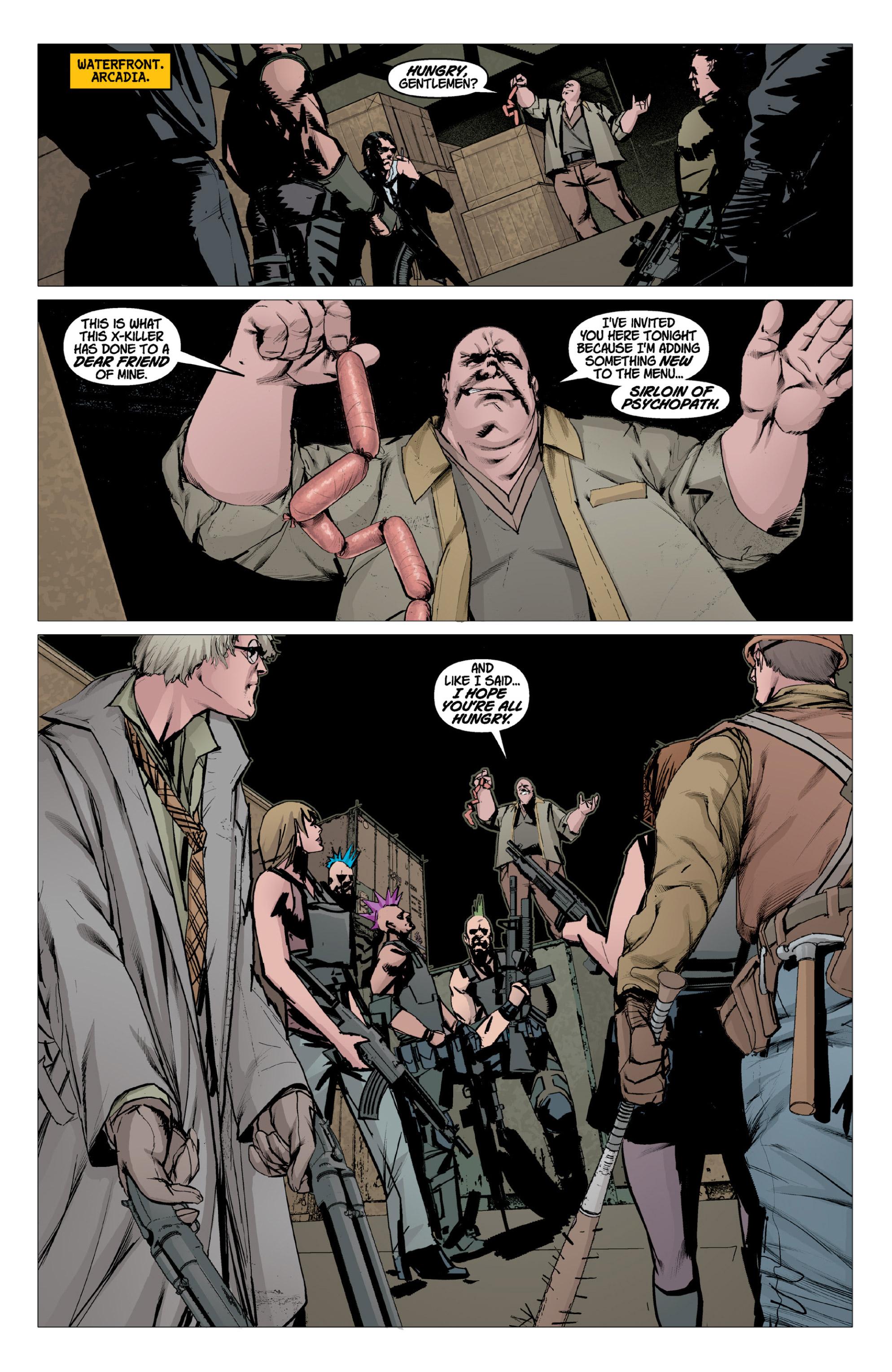 Read online X: Big Bad comic -  Issue # Full - 16