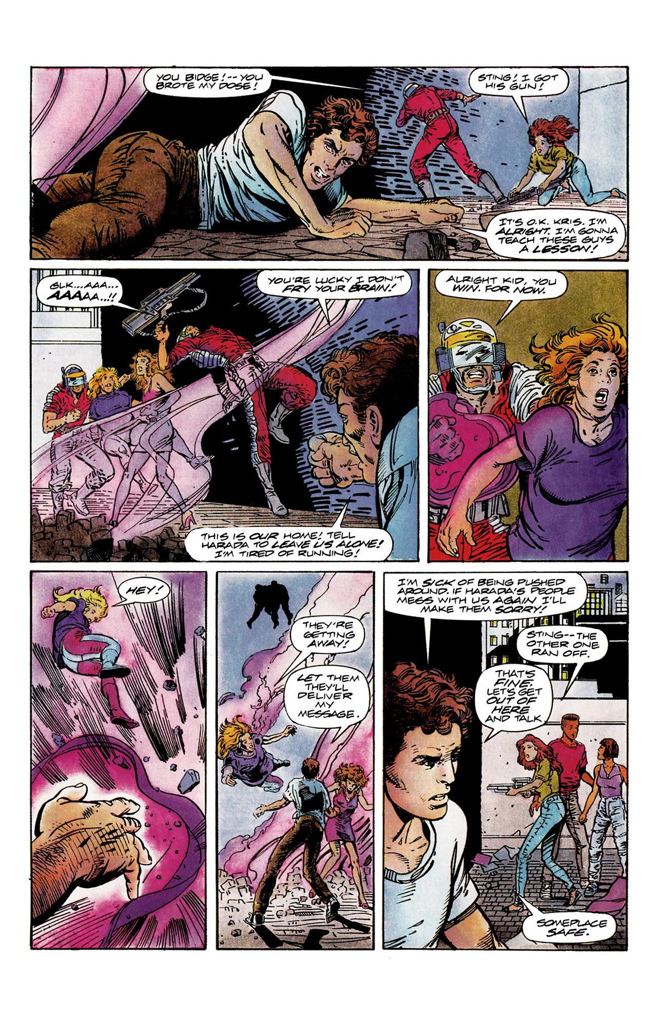 Read online Harbinger (1992) comic -  Issue #10 - 22