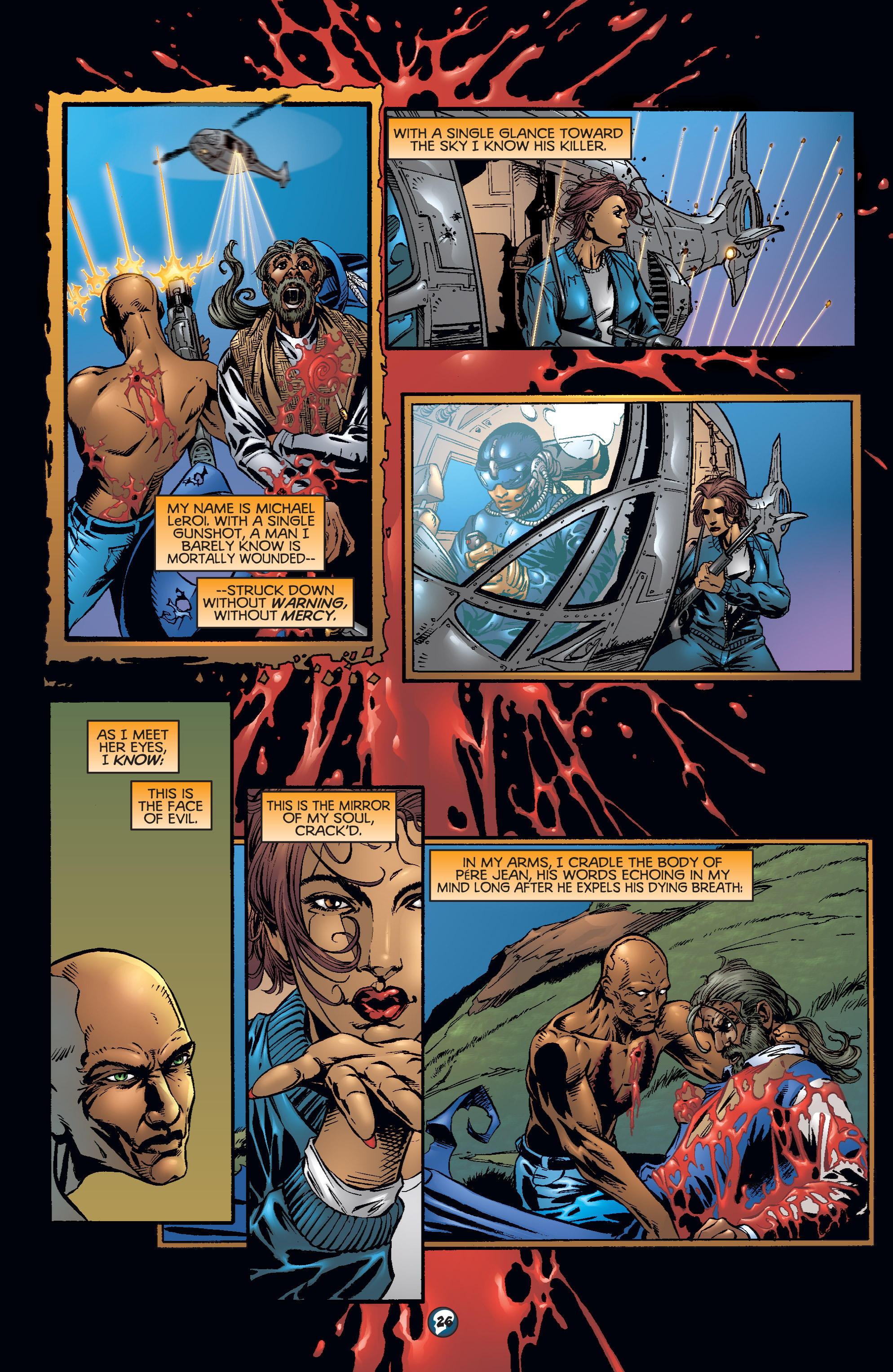 Read online Shadowman (1997) comic -  Issue #17 - 21