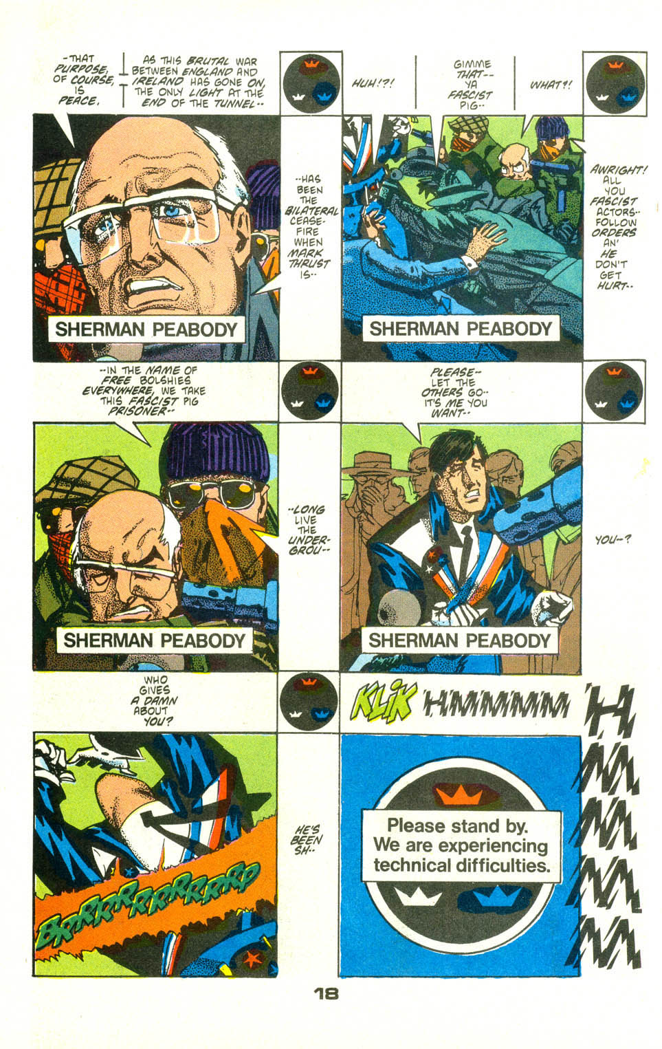 Read online American Flagg! comic -  Issue #25 - 20