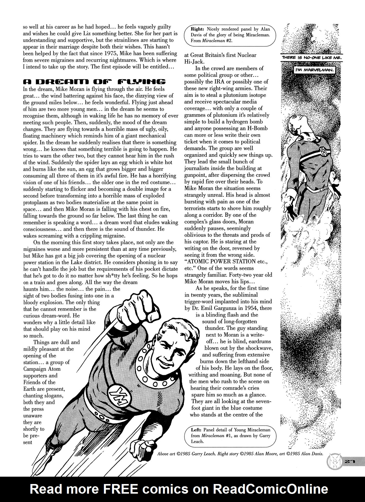 Read online Kimota!: The Miracleman Companion comic -  Issue # Full - 28