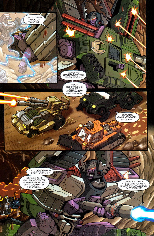 Read online Transformers Armada comic -  Issue #10 - 18