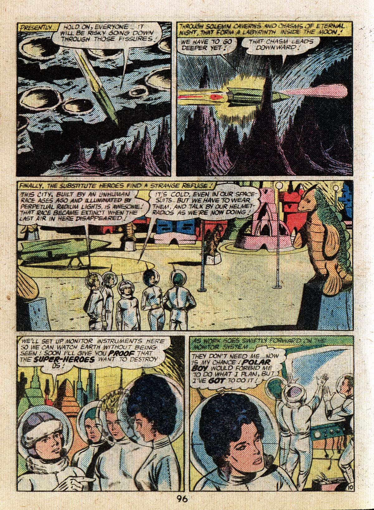 Read online Adventure Comics (1938) comic -  Issue #500 - 96
