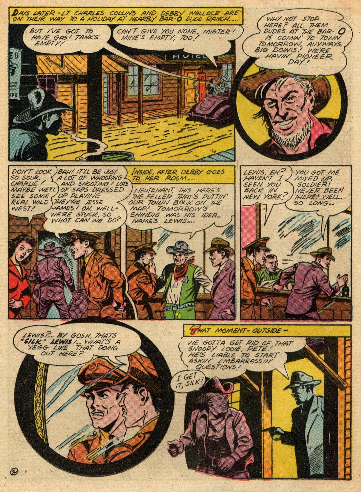 Read online Sensation (Mystery) Comics comic -  Issue #22 - 32