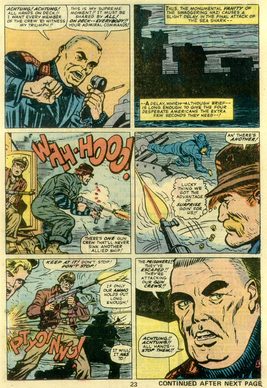 Read online Sgt. Fury comic -  Issue #128 - 25