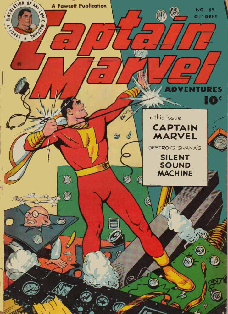 Captain Marvel Adventures issue 89 - Page 1